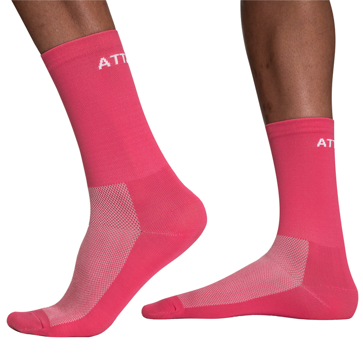 Pink Premium Cycling Socks
