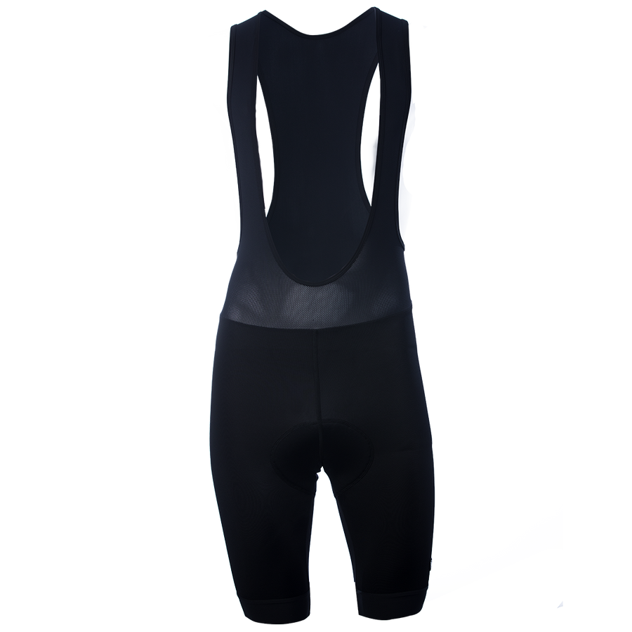 Black + White Foundation Bib Shorts
