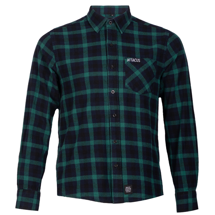 Green Check Adventure Shirt