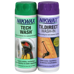 Nikwax Tech Wash and TX.Direct Twin Pack