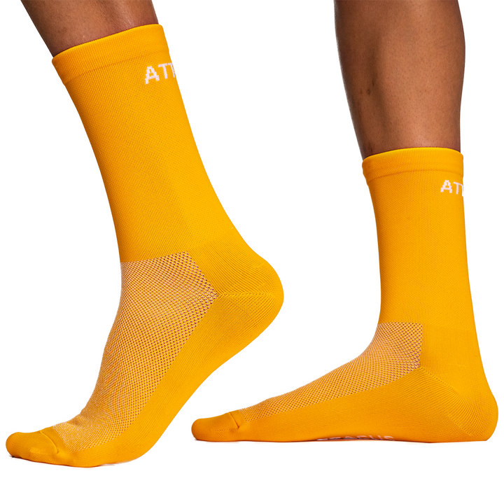 Orange Premium Cycling Socks