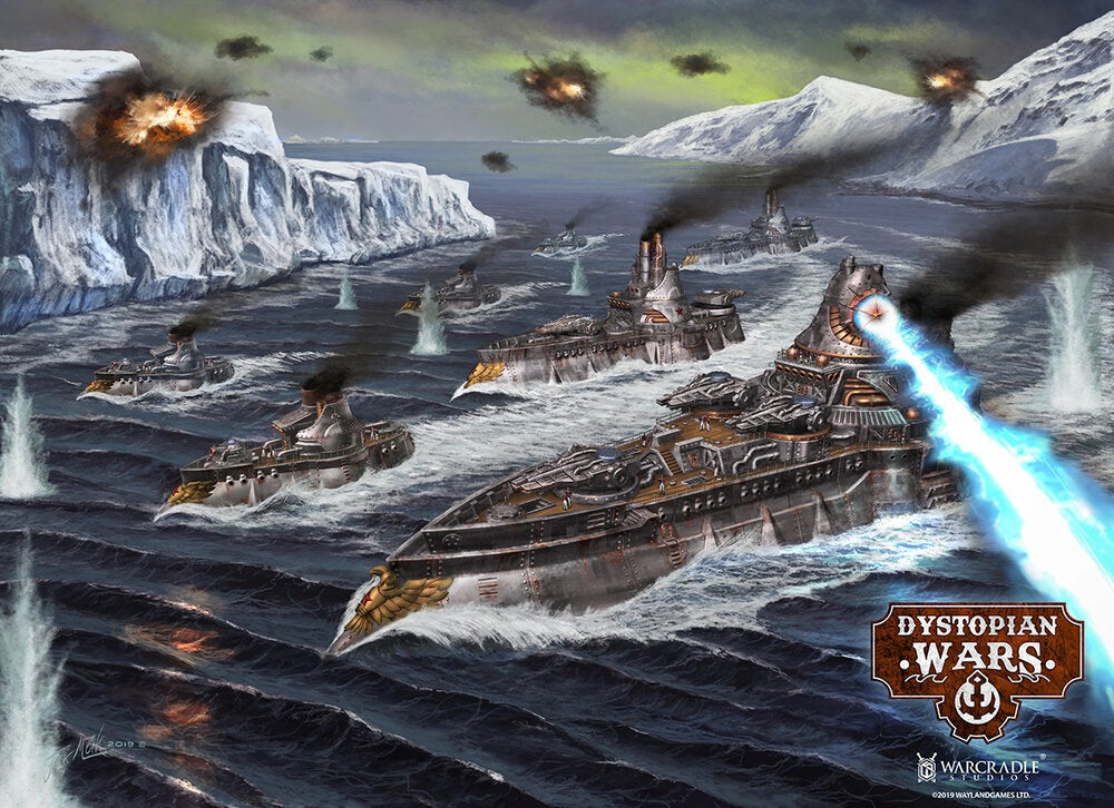 Dystopian Wars : Hunt for the Prometheus - A First Look
