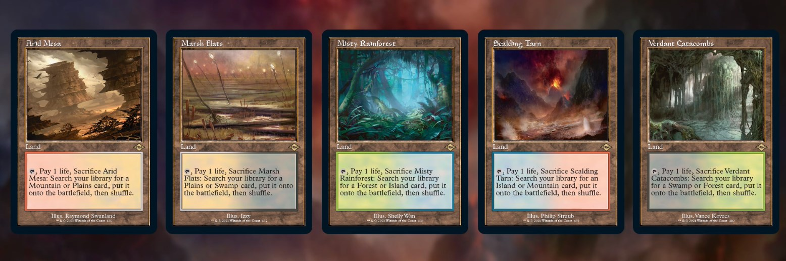 Time Spiral Style Fetches - Modern Horizons 2