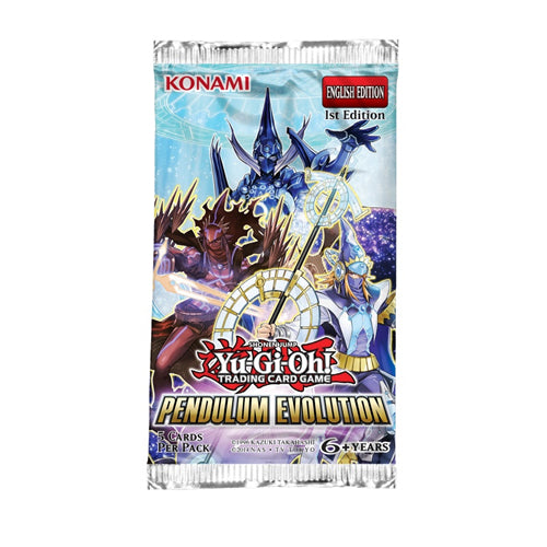 Yu-Gi-Oh Pendulum Evolution Booster Pack-Konami-Athena Games Ltd