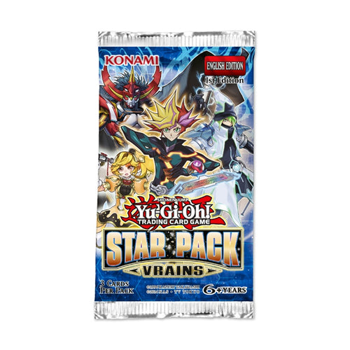 Yu-Gi-Oh Star Pack Vrains Booster Pack-Konami-Athena Games Ltd