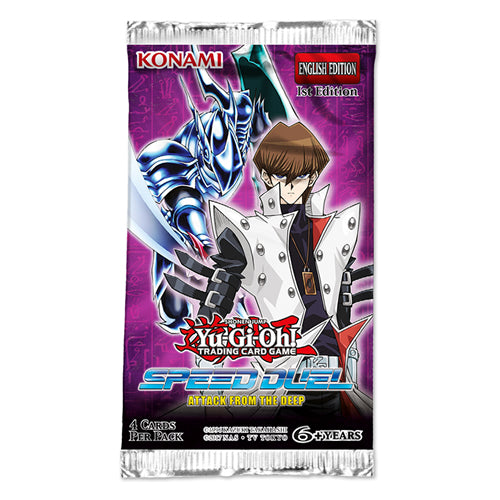 Yu-Gi-Oh Speed Duel Attack From the Deep Booster Pack-Konami-Athena Games Ltd