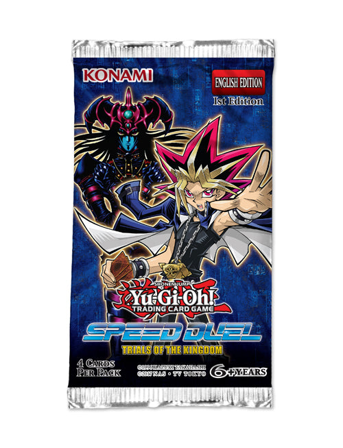 Yu-Gi-Oh Speed Duel Trials of the Kingdom Booster Pack-Konami-Athena Games Ltd