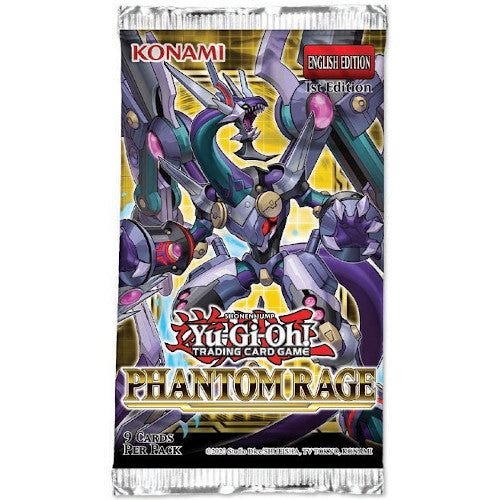 Yu-Gi-Oh Phantom Rage Booster Pack-Konami-Athena Games Ltd