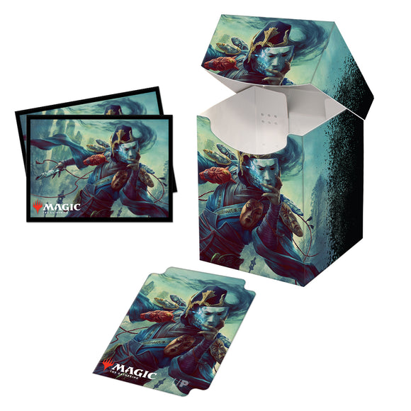 Commander Legends Sakashima of a Thousand Faces 100+ Deck Box and 100ct sleeves for Magic: The Gathering