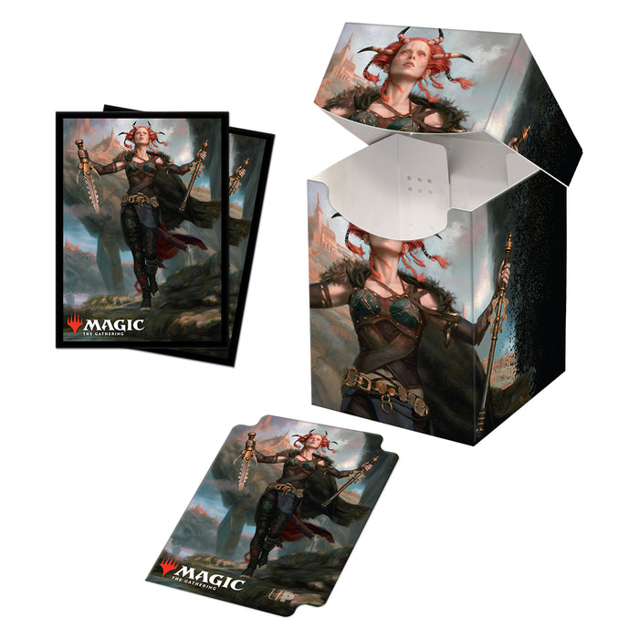 Commander Legends Jeska, Thrice Reborn 100+ Deck Box and 100ct sleeves for Magic: The Gathering-Ultra Pro-Athena Games Ltd