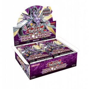 Yu-Gi-Oh! Soul Fusion Booster Box Packaging