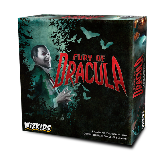 Wizkids Fury of Dracula forth edition box