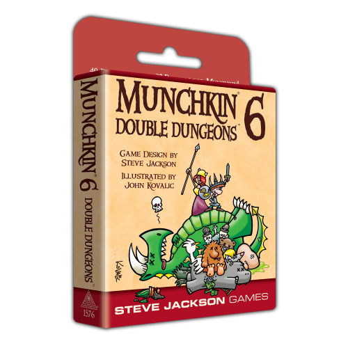 Munchkin 6: Double Dungeons-Steve Jackson Games-Athena Games Ltd