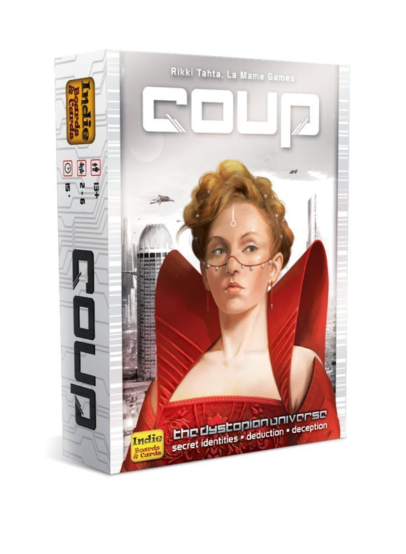 Coup-Board Games-Athena Games Ltd