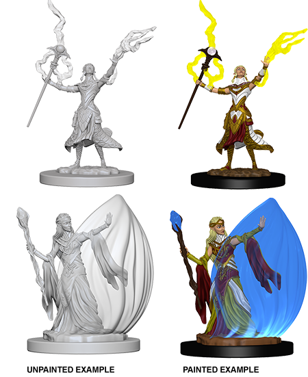 D&D Nolzur's Marvelous Miniatures: Female Elf Wizard