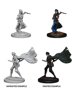 Pathfinder Deep Cuts Unpainted Miniatures: Elf Female Rogue