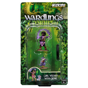 Wizkids Wardlings: Girl Wizard and Genie