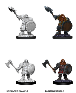 D&D Nolzur's Marvelous Miniatures: Male Dwarf Fighter