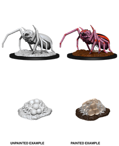 D&D Nolzur's Marvelous Miniatures: Giant Spider & Egg Clutch
