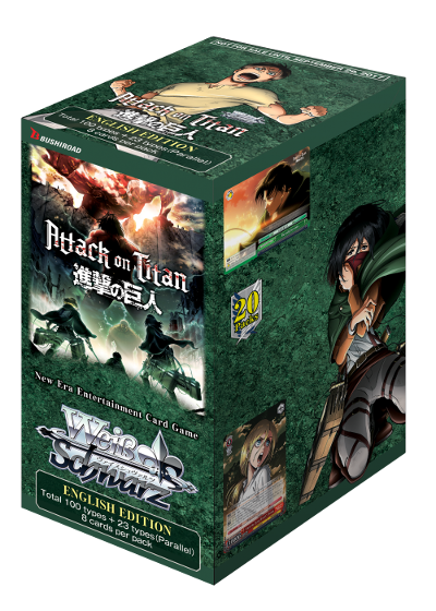 Weiss Schwarz Attack on Titan Vol 2 Booster Box
