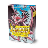 Dragon Shield Matte Pink - 60 Japanese Size Sleeves