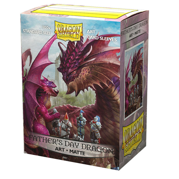 Dragon Shield – Art Sleeves Matte – Father's Day Dragon