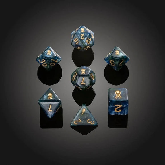 Set of 7 'Spirit Of' Abberation Dice