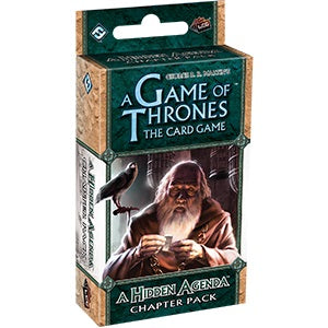 Game Of Thrones LCG 1st Edition - Hidden Agenda-Fantasy Flight Games-Athena Games Ltd