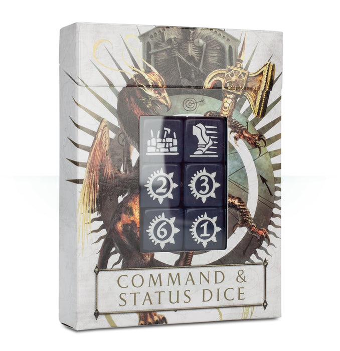 Age of Sigmar Command & Status Dice