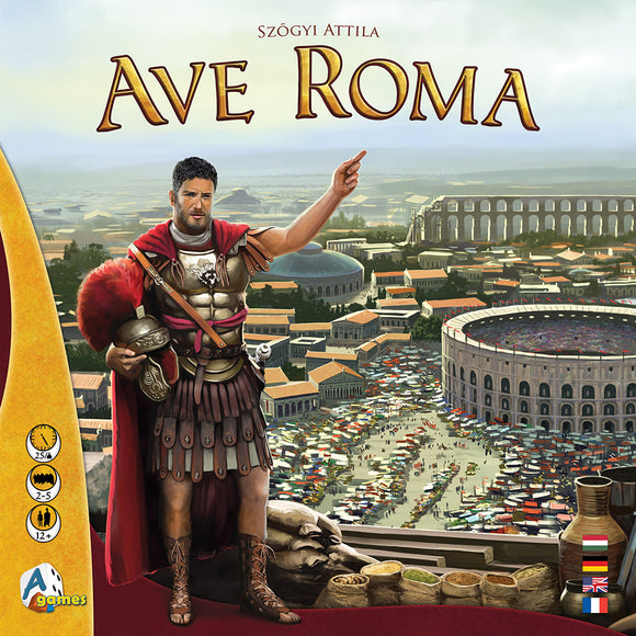 Ave Roma-Board Games-Athena Games Ltd