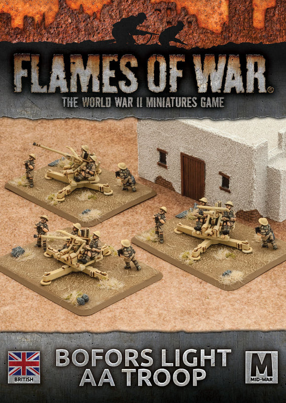 Bofors Light AA Troop - Flames Of War