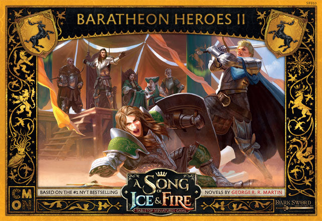 Baratheon Heroes 2 - A Song of Ice & Fire Expansion-CMON-Athena Games Ltd