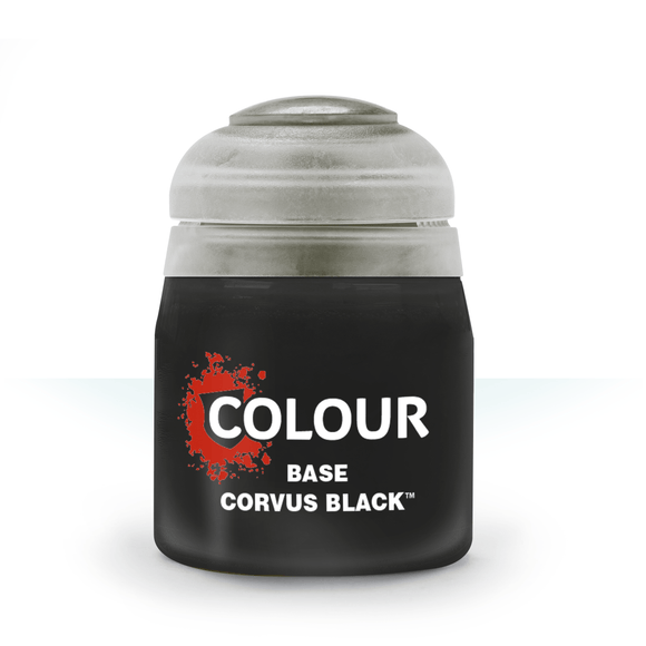 Base Corvus Black (12ml)-Athena Games Ltd-Athena Games Ltd