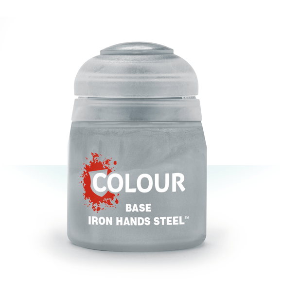 Base Iron Hands Steel (12ml)-Games Workshop-Athena Games Ltd
