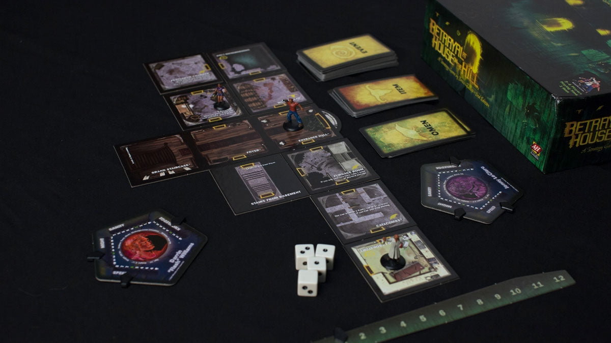 Betrayal At House On The Hill - Example Game