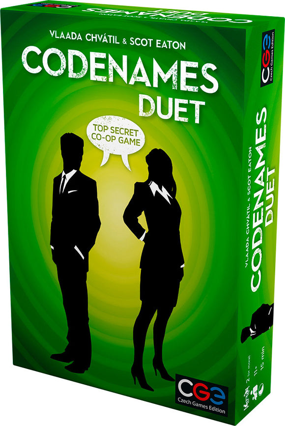 Codenames Duet-Board Games-Athena Games Ltd