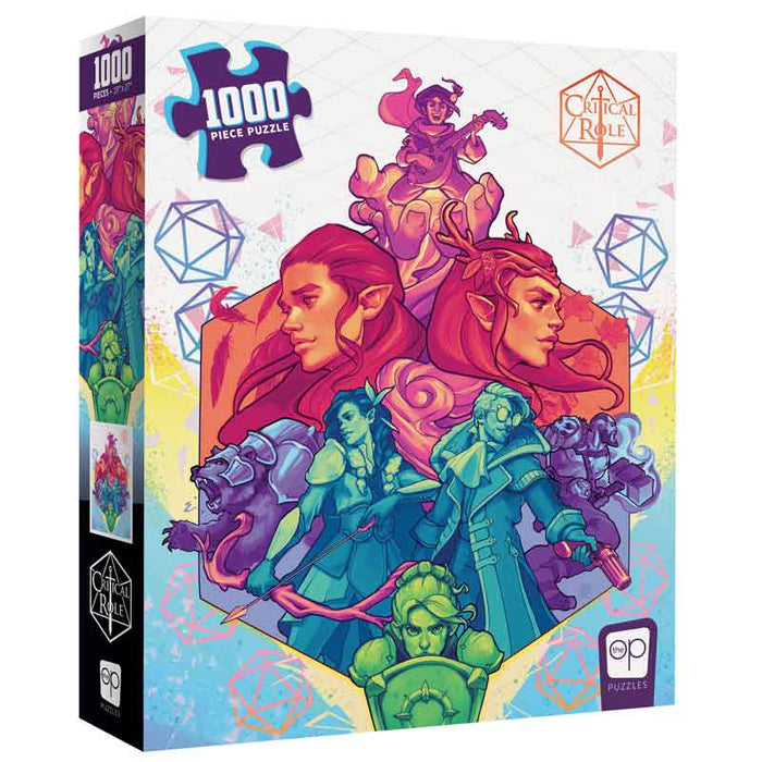 Critical Role: Vox Machina 1,000 Piece Puzzle