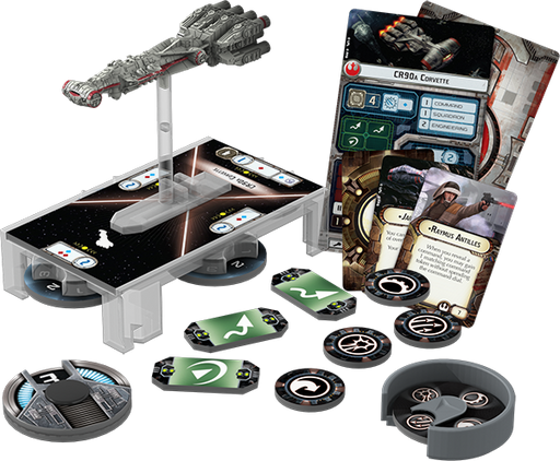 Star Wars Armada CR90 Corellian Corvette-Fantasy Flight Games-Athena Games Ltd