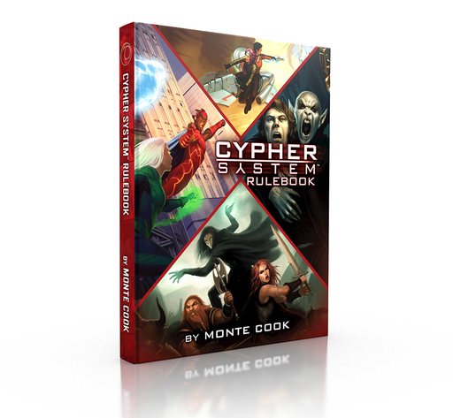 Cypher System Rulebook Cover