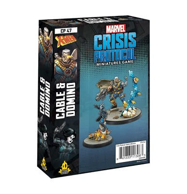 Cable and Domino: Marvel Crisis Protocol-Atomic Mass Games-Athena Games Ltd