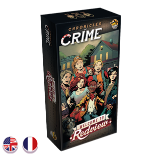 Chronicles of Crime: Welcome to Redview-Board Games-Athena Games Ltd