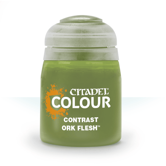 Contrast Ork Flesh (18ml)-Games Workshop-Athena Games Ltd