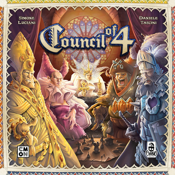 Council Of 4-Board Games-Athena Games Ltd