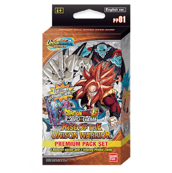 Dragon Ball Super PP01 Rise of the Unison Warrior Premium Pack