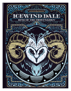 Dungeons & Dragons Icewind Dale: Rime of the Frostmaiden (Alternate Cover)