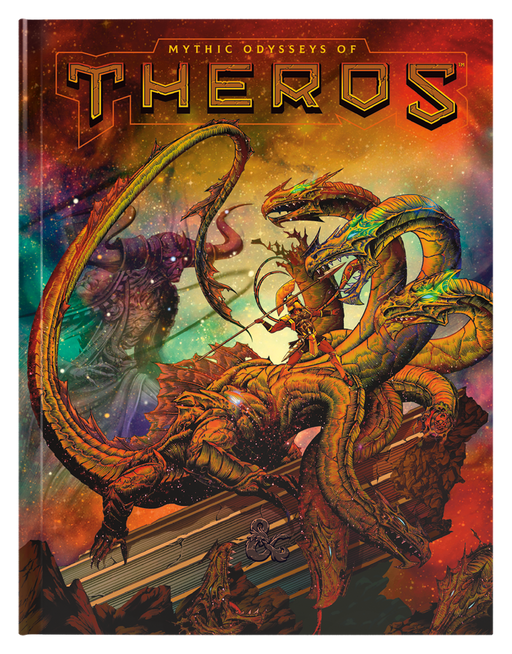 Dungeons & Dragons Mythic Odysseys of Theros (Alternate Cover)