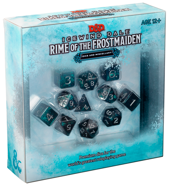 Icewind Dale: Rime of the Frostmaiden Dice & Miscellany