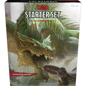 D&D Starter Set Box Art