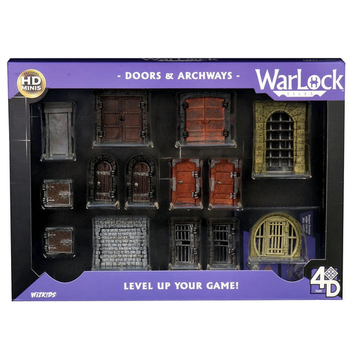 WarLock Tiles: Doors & Archways-Wizkids-Athena Games Ltd