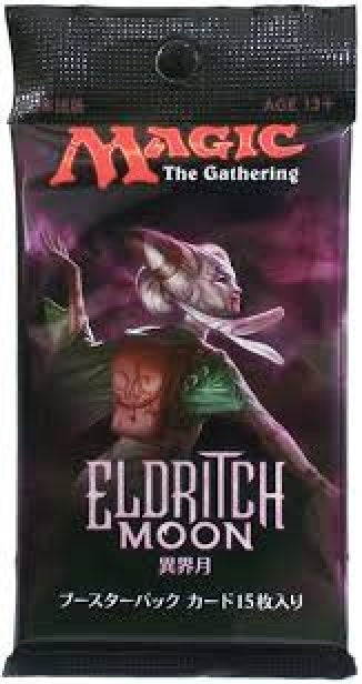 JAPANESE Magic the Gathering Eldritch Moon Booster Pack (異界月)